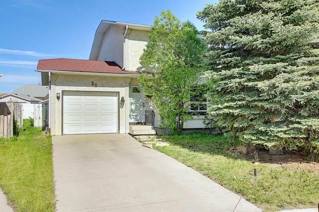 20 Martinglen Place NE, Calgary, AB T3J 3J1 (#A1116445) :: Calgary Homefinders