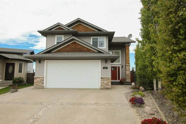 18 Iron Wolf Court, Lacombe, AB T4L 0E9 (#A1116487) :: Calgary Homefinders
