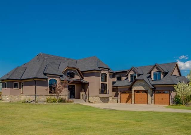 31022 Swift Creek Lane, Rural Rocky View County, AB T3Z 0B7 (#A1116675) :: Calgary Homefinders