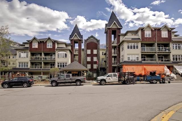 160 Kananaskis Way #336, Canmore, AB T1W 3E2 (#A1116701) :: Calgary Homefinders