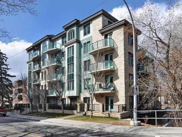 108 25 Avenue SW #303, Calgary, AB T2S 0K9 (#A1116721) :: Calgary Homefinders