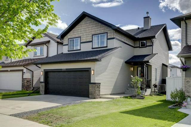 355 Cimarron Boulevard, Okotoks, AB T1S 2L8 (#A1117176) :: Calgary Homefinders