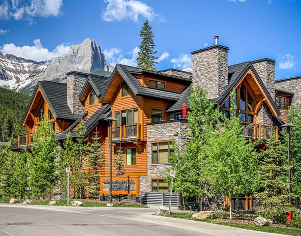 101 Stewart Creek Landing #2101, Canmore, AB T1W 0E3 (#A1117330) :: Calgary Homefinders