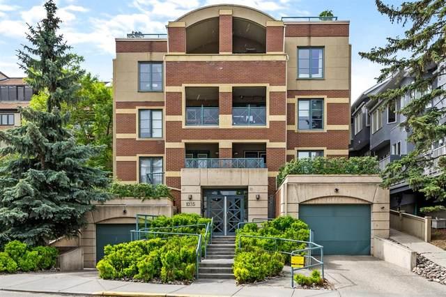 1235 Cameron Avenue SW #101, Calgary, AB T2T 0L1 (#A1117440) :: Greater Calgary Real Estate