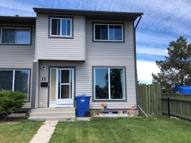 1 Park Meadows Boulevard N #12, Lethbridge, AB T1H 4H6 (#A1117528) :: Greater Calgary Real Estate