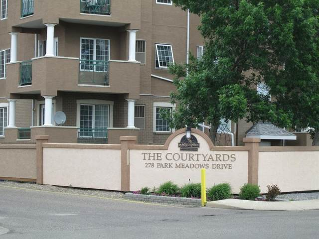 278 Park Meadows Drive SE #106, Medicine Hat, AB T1B 4J1 (#A1117547) :: Calgary Homefinders