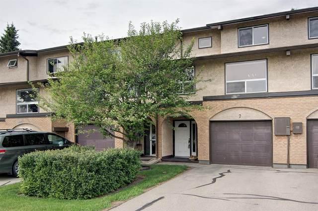 1011 Canterbury Drive SW #7, Calgary, AB T2W 2S8 (#A1117630) :: Calgary Homefinders