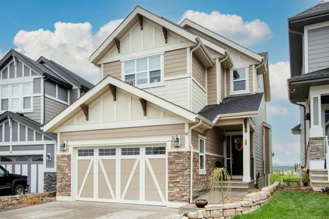 43 Sundown Way, Cochrane, AB T4C 2M4 (#A1117772) :: Calgary Homefinders