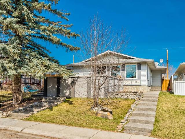 7368 Huntley Road NE, Calgary, AB T2K 4Z4 (#A1117814) :: Calgary Homefinders