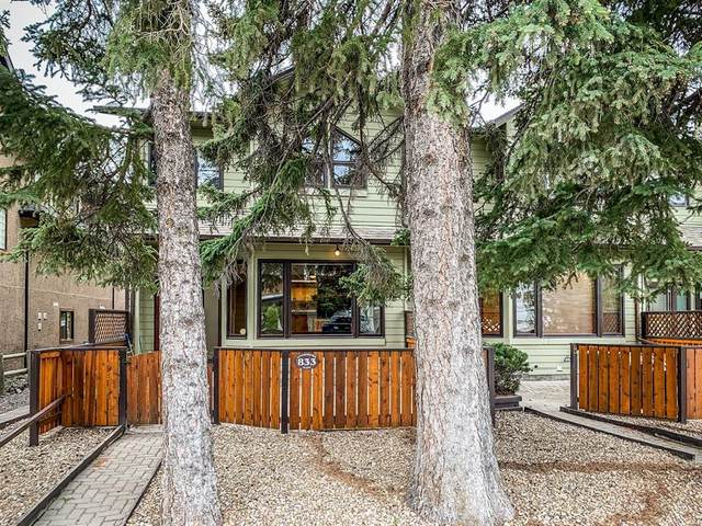 833 5th Street #1, Canmore, AB T1W 2G1 (#A1118035) :: Calgary Homefinders