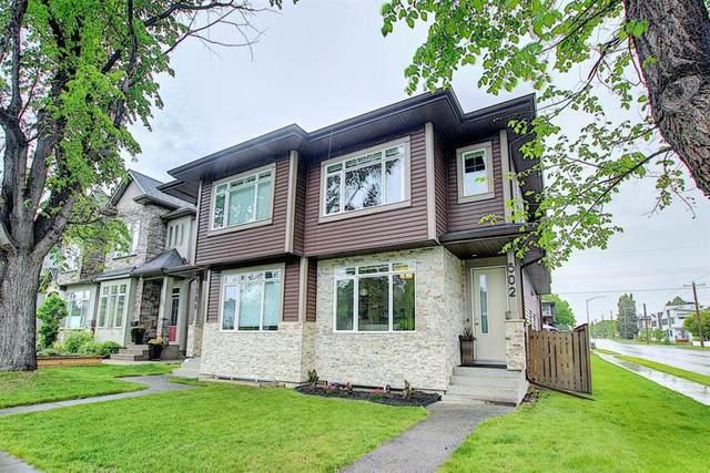 502 18 Avenue NW, Calgary, AB T2M 0T6 (#A1118397) :: Calgary Homefinders