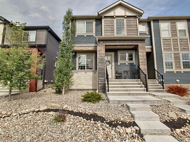 327 Hillcrest Drive SW, Airdrie, AB T4B 4C8 (#A1118443) :: Western Elite Real Estate Group