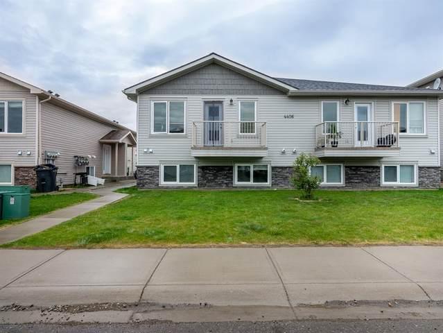 4406 Lake Drive Unit 1 (A), Coalhurst, AB T0L 0V2 (#A1118574) :: Greater Calgary Real Estate