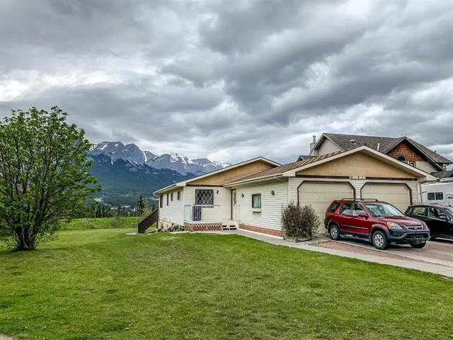 312 Hoodoo Crescent, Canmore, AB T1W 1A9 (#A1118595) :: Calgary Homefinders