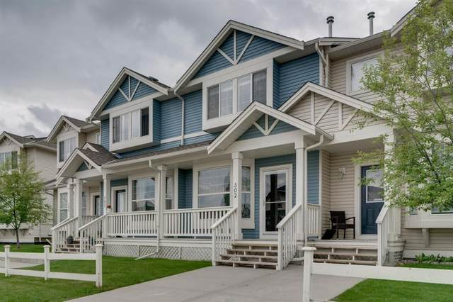 703 Luxstone Square SW #302, Airdrie, AB T4B 0A3 (#A1118637) :: Calgary Homefinders