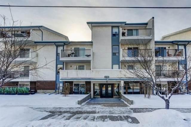 647 1 Avenue NE #402, Calgary, AB T2E 0B5 (#A1118747) :: Greater Calgary Real Estate
