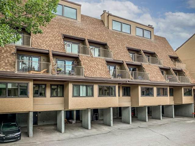 200 Three Sisters Drive #304, Canmore, AB T1W 2M1 (#A1118789) :: Calgary Homefinders