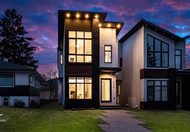 2419 30 Street SW, Calgary, AB T3E 2L9 (#A1118969) :: Calgary Homefinders