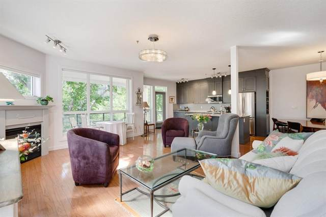 3412 Parkdale Boulevard NW #304, Calgary, AB T2N 3T4 (#A1119086) :: Greater Calgary Real Estate