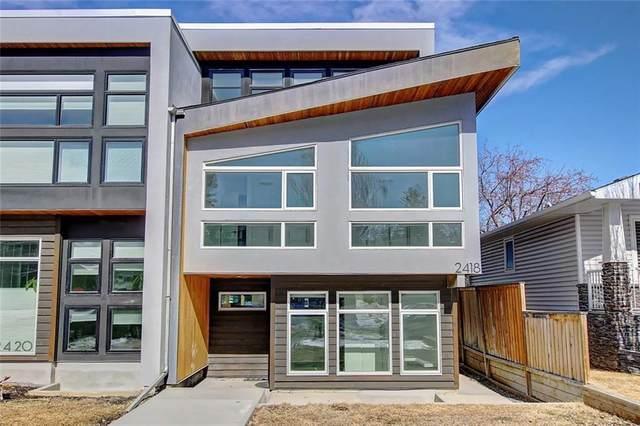 2418 28 Avenue SW, Calgary, AB T2T 1K9 (#A1119136) :: Calgary Homefinders