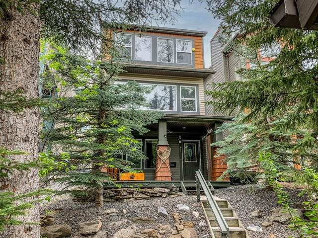 911 Lawrence Grassi Ridge, Canmore, AB T1W 2Z5 (#A1119359) :: Calgary Homefinders