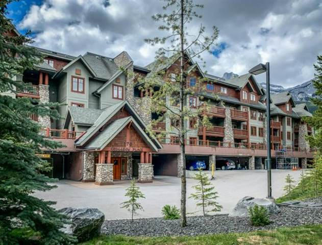 170 Crossbow Place #115, Canmore, AB T1W 3H4 (#A1119411) :: Calgary Homefinders