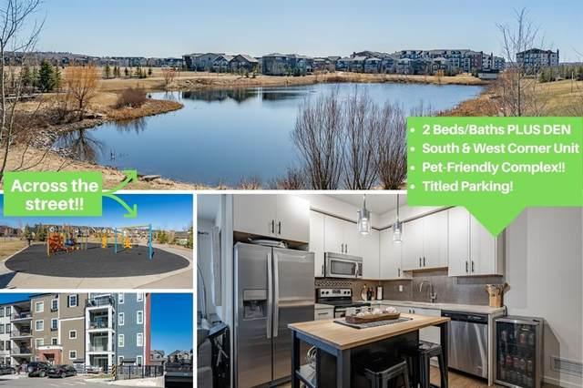 215 Legacy Boulevard SE #1101, Calgary, AB T2X 3Z7 (#A1119430) :: Greater Calgary Real Estate