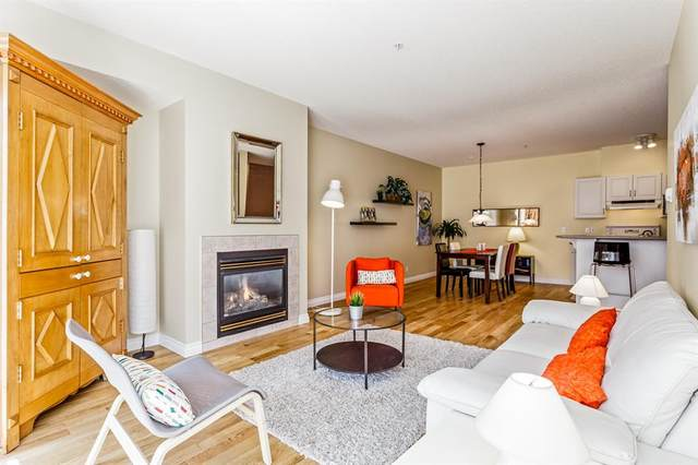 1151 Sidney Street #318, Canmore, AB T1W 3G1 (#A1119561) :: Calgary Homefinders