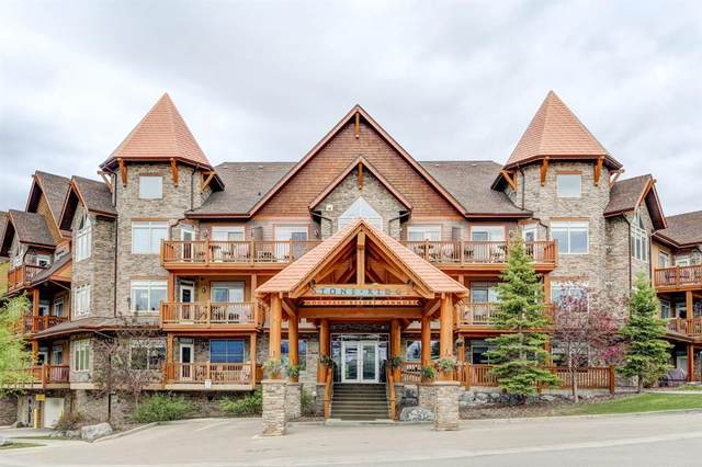 30 Lincoln Park #228, Canmore, AB T1W 3E9 (#A1119579) :: Calgary Homefinders