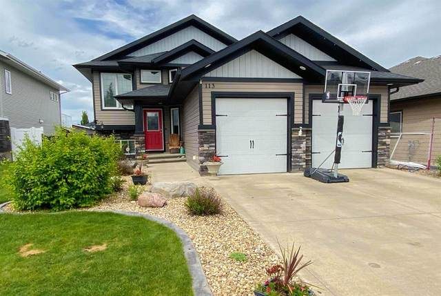 113 Erica Drive, Lacombe, AB T4L 0C8 (#A1119583) :: Calgary Homefinders