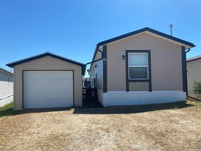 82 Greenwood Villa, Drumheller, AB T0J 0Y2 (#A1119864) :: Calgary Homefinders