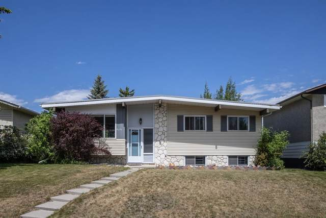 6424 Travois Crescent NW, Calgary, AB T2K 3S7 (#A1120515) :: Calgary Homefinders