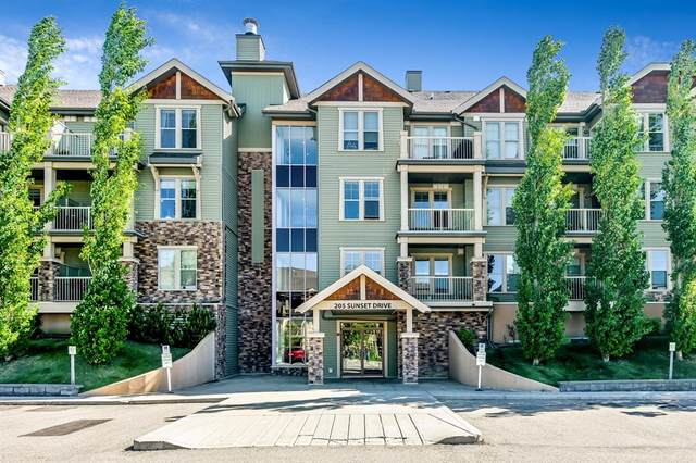 205 Sunset Drive #217, Cochrane, AB T4C 0H6 (#A1120536) :: Greater Calgary Real Estate