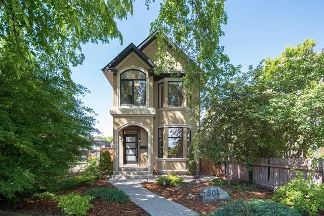 504 27 Avenue NW, Calgary, AB T2T 0L4 (#A1120571) :: Calgary Homefinders