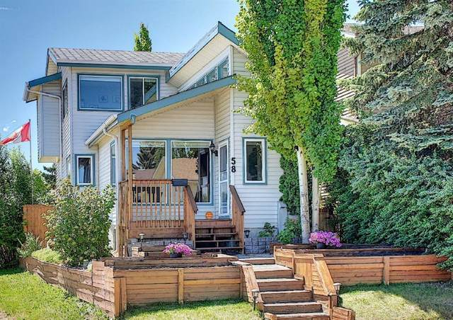 58 Strathcona Crescent SW, Calgary, AB T3H 1L1 (#A1120618) :: Calgary Homefinders