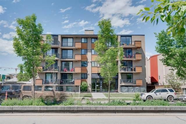 916 Memorial Drive NW #106, Calgary, AB T2N 3C9 (#A1120676) :: Western Elite Real Estate Group
