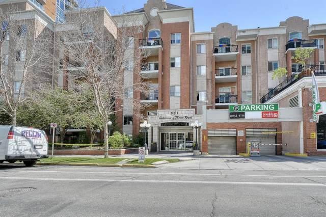 881 15 Avenue SW #102, Calgary, AB T2R 1R8 (#A1120735) :: Calgary Homefinders