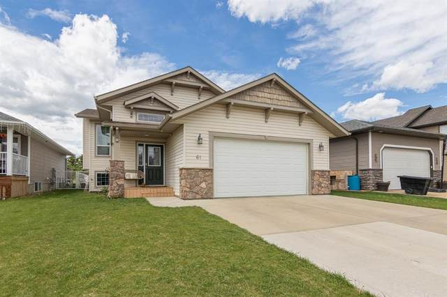 61 Iron Wolf Boulevard, Lacombe, AB T4L 2K5 (#A1120848) :: Calgary Homefinders