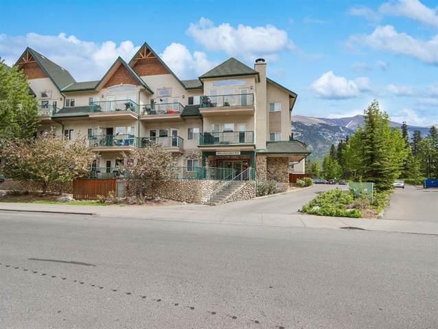 176 Kananaskis Way #105, Canmore, AB T1W 3E4 (#A1120882) :: Calgary Homefinders