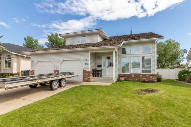63 Denison Crescent, Red Deer, AB T4R 2E9 (#A1120929) :: Western Elite Real Estate Group