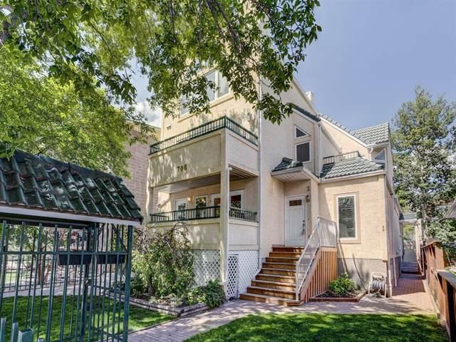 708 2 Avenue NW #3, Calgary, AB T2N 0E3 (#A1120957) :: Western Elite Real Estate Group