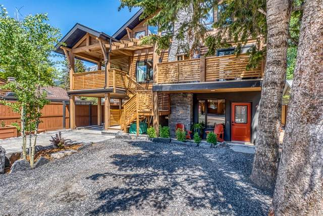 1235 1st Avenue #4, Canmore, AB T1W 1M5 (#A1121223) :: Calgary Homefinders