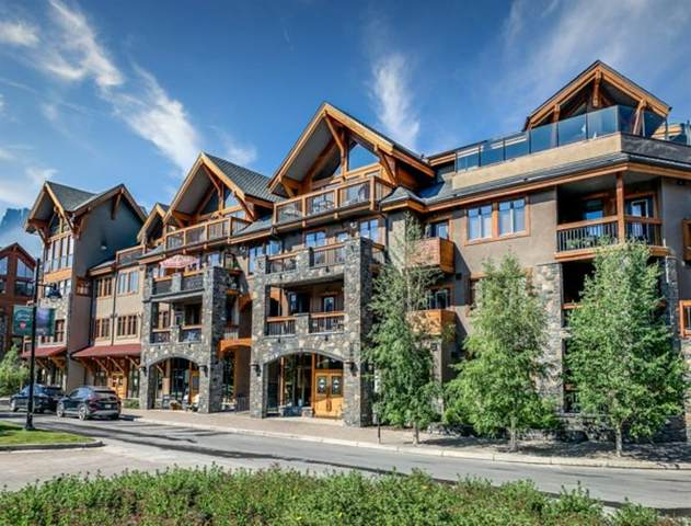 505 Spring Creek Drive #206, Canmore, AB T1W 0C5 (#A1121290) :: Canmore & Banff