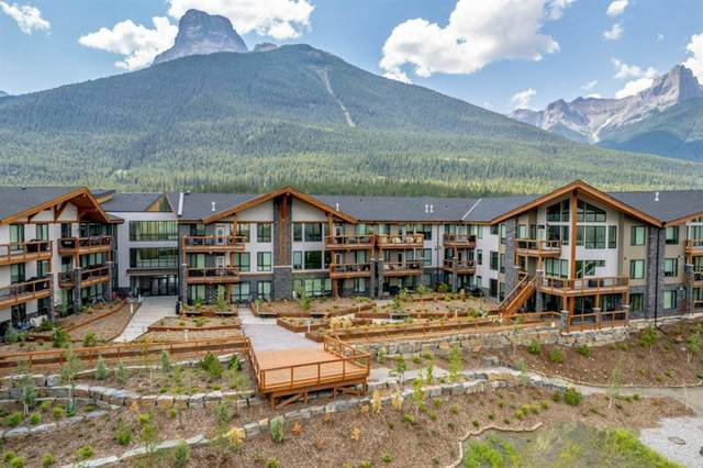 106 Stewart Creek Rise #114, Canmore, AB T1W 0N3 (#A1124371) :: Canmore & Banff