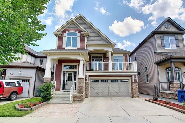 1072 Windsong Drive SW, Airdrie, AB T4B 0P4 (#A1126381) :: Calgary Homefinders