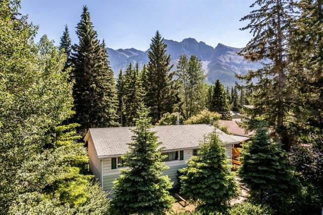 633 3 Street, Canmore, AB T1W 2H9 (#A1126984) :: Canmore & Banff