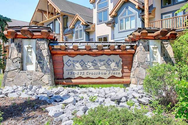 155 Crossbow Place #303, Canmore, AB T1W 3H6 (#A1127373) :: Canmore & Banff