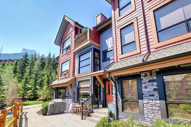 80 Dyrgas Gate #713, Canmore, AB T1W 3M8 (#A1127873) :: Canmore & Banff