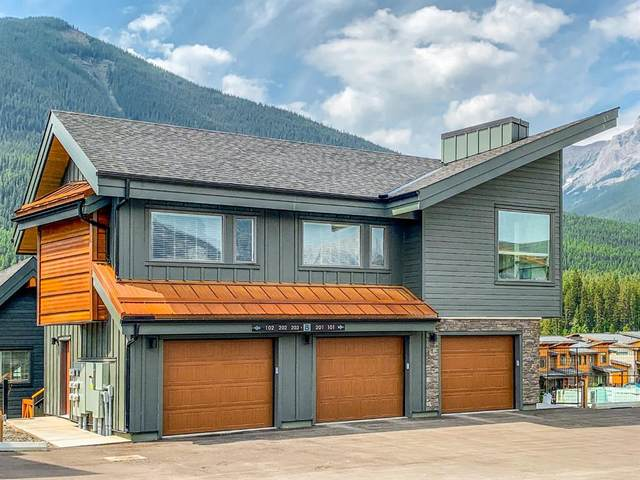 1200 Three Sisters Parkway 203B, Canmore, AB T1W 0M5 (#A1128419) :: Canmore & Banff