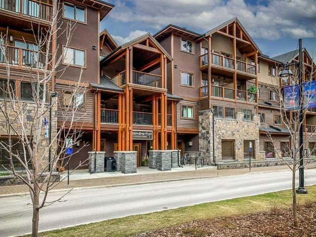 808 Spring Creek Drive #318, Canmore, AB T1W 0K3 (#A1128648) :: Canmore & Banff